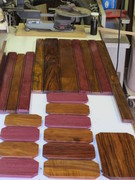 12 Four coats of shellac on the interior