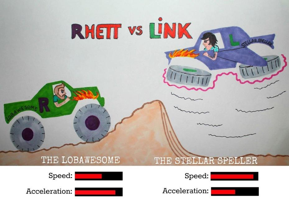 Rhett and Link's future in MONSTER TRUCKING