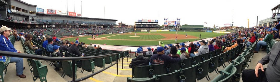 Dell Diamond Panorama