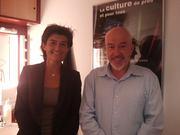 Avec Stéphanie Labrousse de FR3