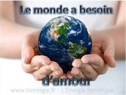 Le monde a besoin d'amour