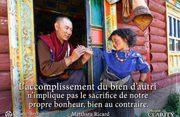 L'accomplissement du bien d'autrui