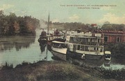 The Ship Channel at Harrisburg Near Houston