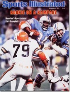 Earl Campbell Rushing Cleveland's Defense