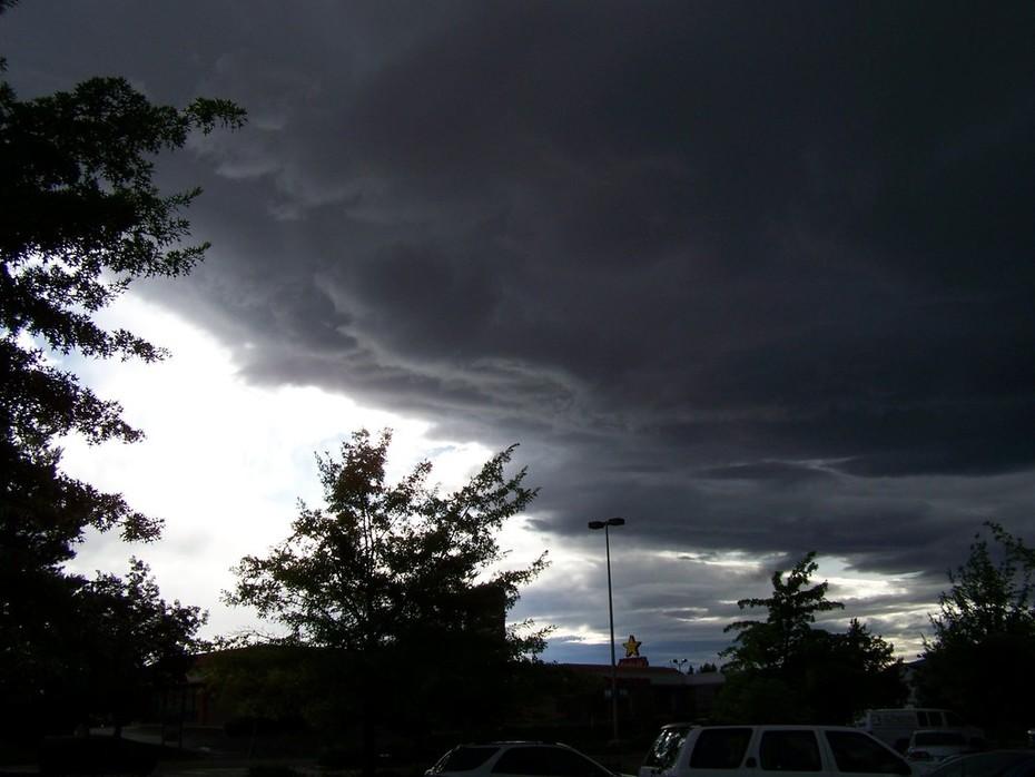 now the rain