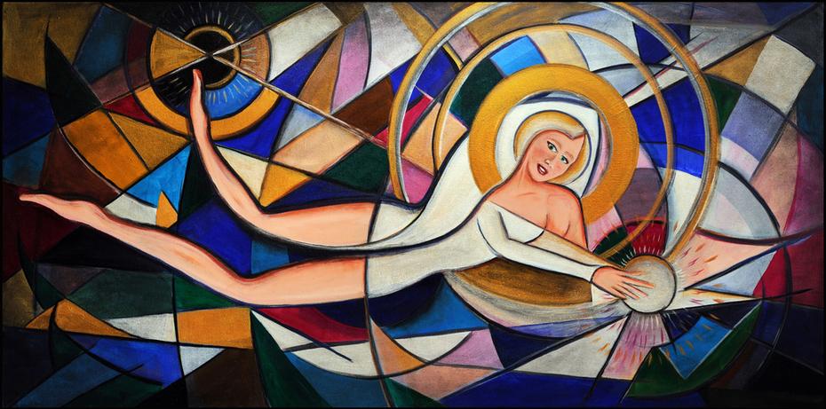 Sensual Geometric Woman