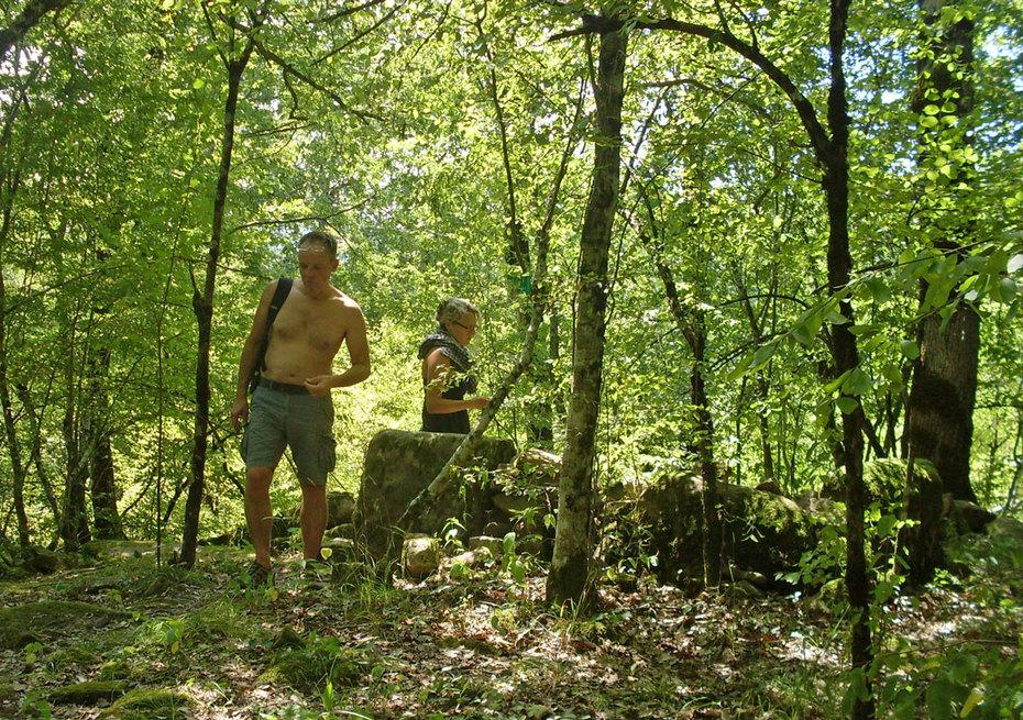 Dolmen pilgrimage, August 2014