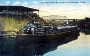 Cotton Barge on Buffalo Bayou