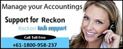 Dial +61-1800-958-237 For Reliable Reckon Support Australia