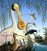 James-Marsh-1-Miscellaneous-Animals-Nature-Miscellaneous-Contemporary-Art-Post-Surrealism