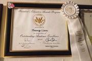 Presidential Award- Taang Thang Van Lian
