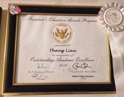 Presidential Award- Thang Van Lian-S