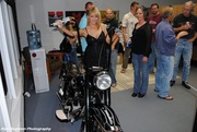 Nivel Vintage Motorcycle Art Grand Opening Party
