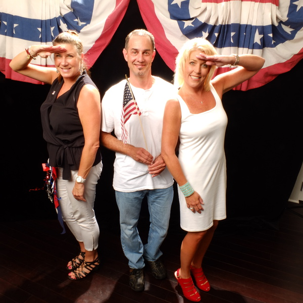 "Salute to Our Heroes ""Red, White & Blue Party"" Sponsored by Liberty Tax"