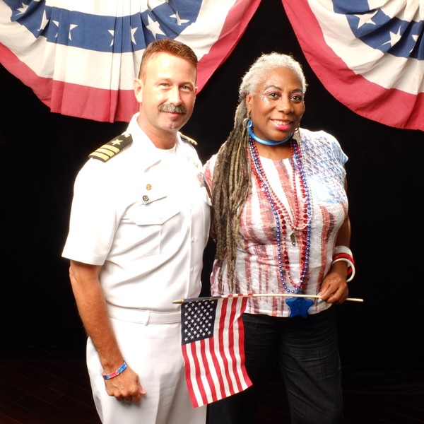 """Salute to Our Heroes """"Red, White & Blue Party"""" Sponsored by Liberty Tax"""