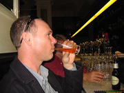 Luke drinks Pale Ale