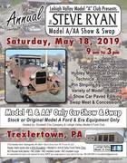 Steve Ryan Model A Car Show & Swap (Free)