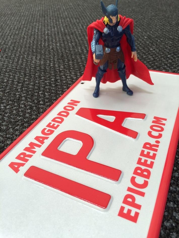 IPA License Plate