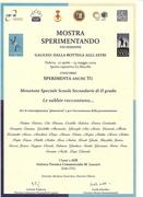 Attestato(Mostra Sperimentando)Padova_VIII Edizione...