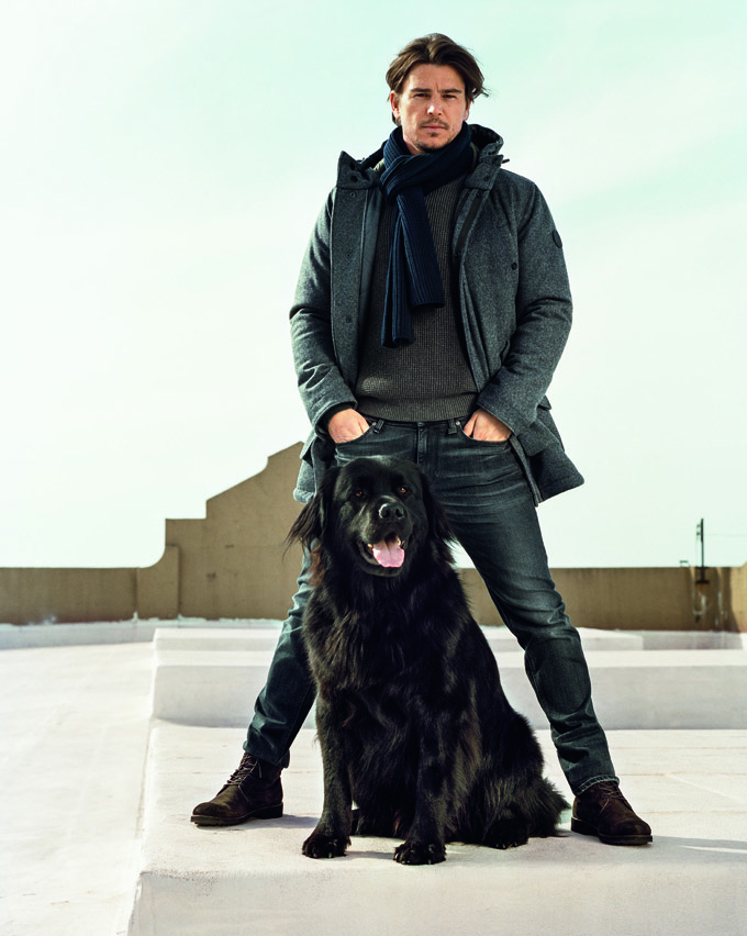 new picture josh hartnett for  Marc O'Polo