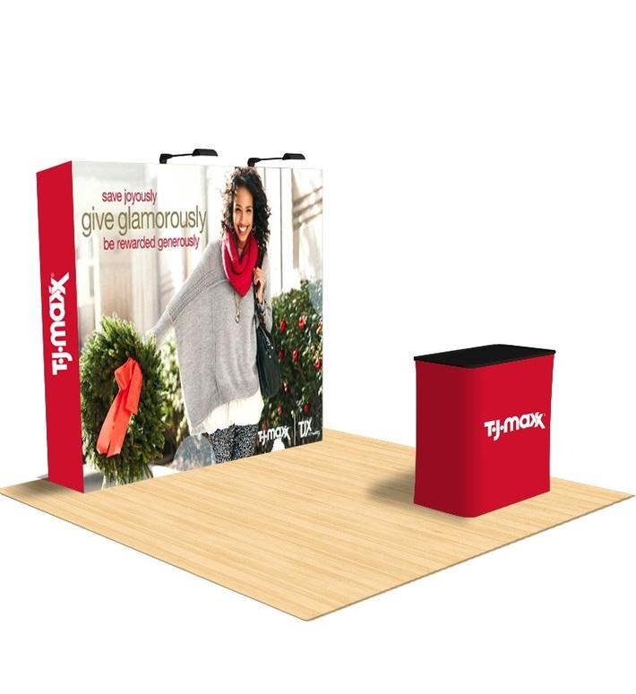 Fabric Pop Up Displays For Indoor / Outdoor Events - California