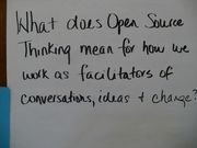 Open Source Thinking - Workshop