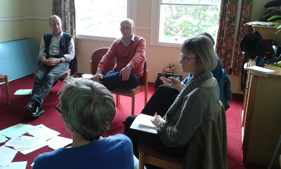 Trust, writing and conversations, Brighton, 20 May 2016