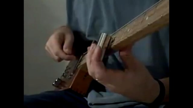 - Exodus 31 Blues -      Three String Recording - Cigar Box Slide Guitar
