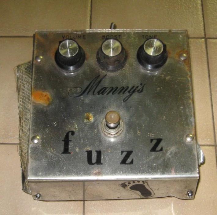1968 Manny's Fuzz Pedal