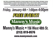 Manny's Parker Guitar Clinic 1