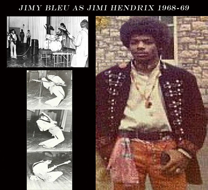 Bleu in Hendrix Fan Club