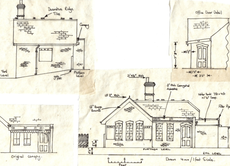 Blakesley Station Building Plan Page 2