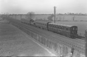 LMS Webb 2-4-2T Autotrain near Blisworth on WCML