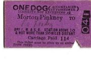 Morton Pinkney Dog Ticket