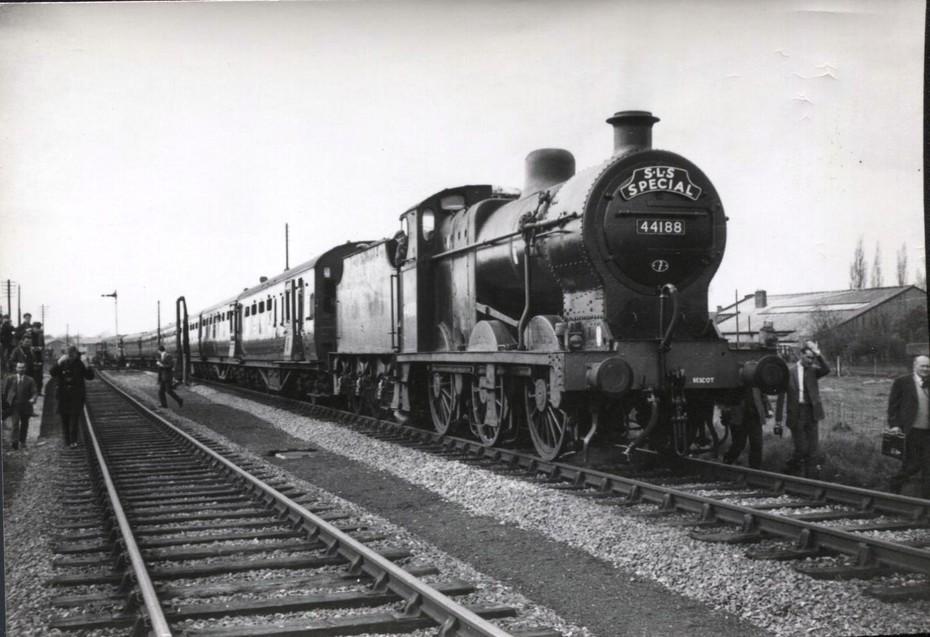 44188 at Stratford Old Town on SLS Railtour
