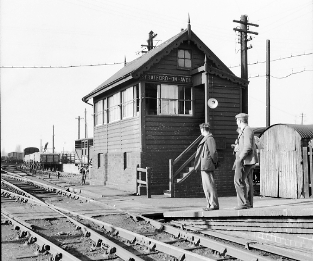 Stratford SMJ signalbox