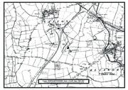 Map of Gayton area C1886 1891