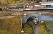 GCR double bridge over Station Road
