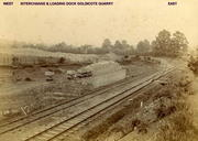 Transfer sidings between Ettington Limeworks Co and E & W Junc Rly