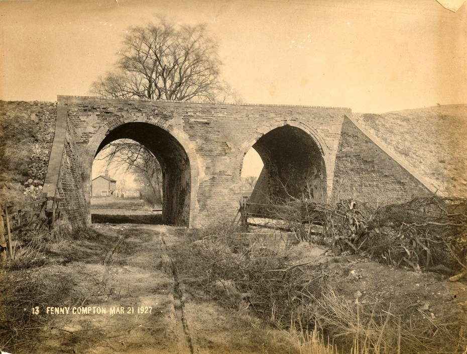 Bridge No 60 at Fenny Compton Mar 21 1927