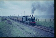 Final train passes Clifford Sidings 24th April 1965