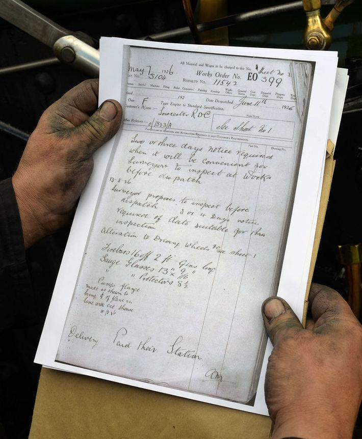 Copy of Original paperwork continued