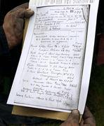 Copy of Original Paperwork