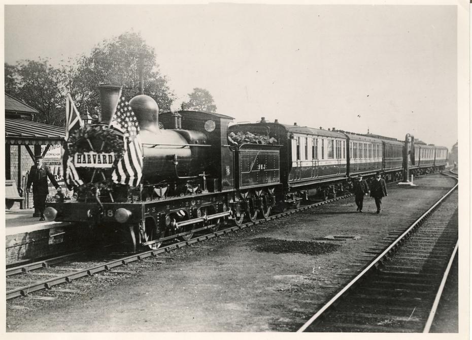 Harvard House Special Train 1909