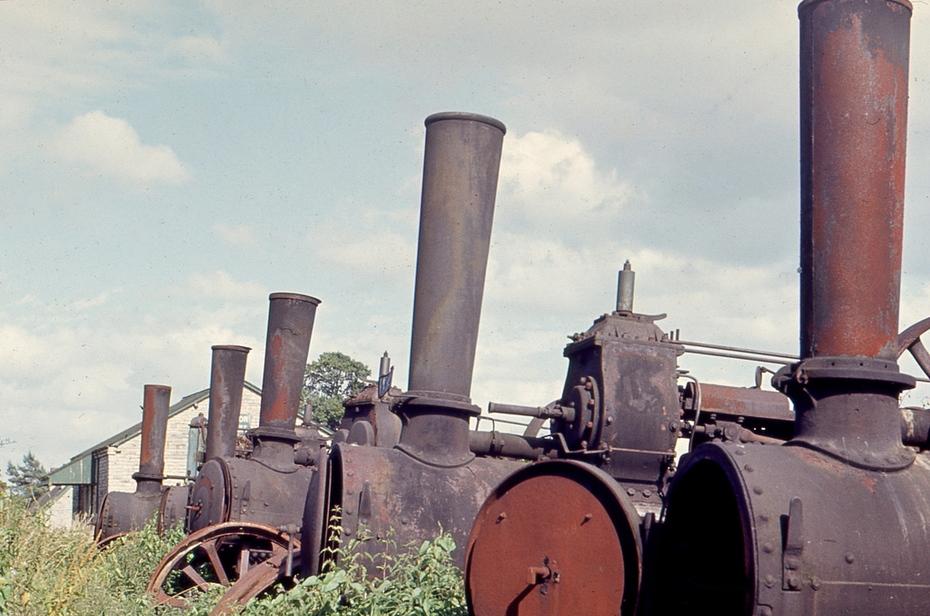 Binton Station - Bomford and Evershed yard