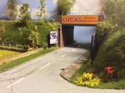 Lucas Bridge. Towcester model railway layout
