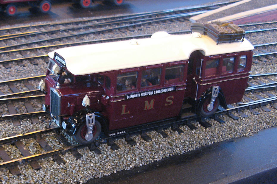 O Gauge Ro-Railer seen at Warley NEC Exhibition 2013
