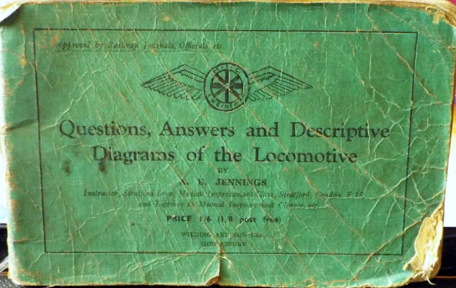 Questions, Answers & Descriptive Diagrams of the Locomotive.