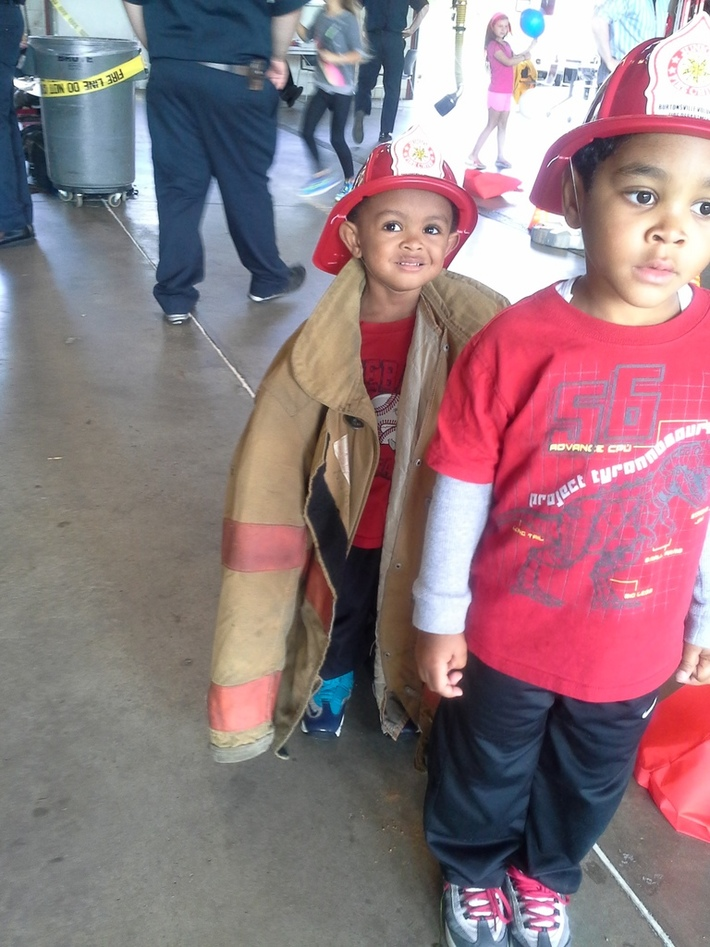 Engine 15 Fire Station Open House 2014
