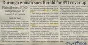 Durango Herald Lawsuit/Court Date 06/01/06